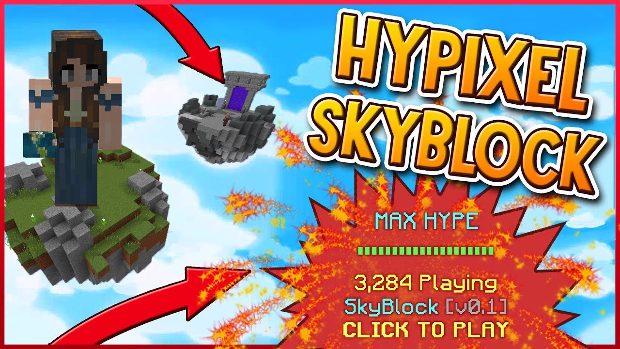 HYPIXEL SKYBLOCK!? | MAKING LOTS OF COINS!