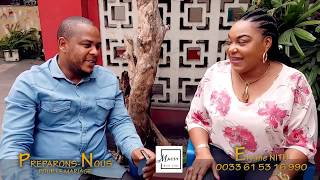 Maman Nitu et Junior du Groupe Cinarc,  Maman Abomisi mwana naye Pona Bomengo Ya se