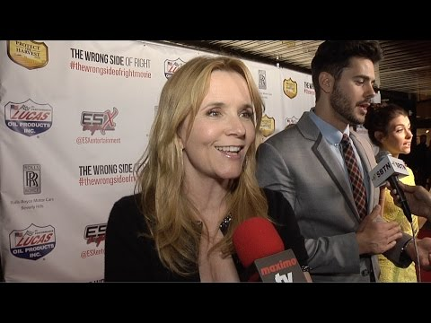"""Lea Thompson Interview // """"The Wrong Side of Right"""" Los Angeles Premiere Red Carpet"""