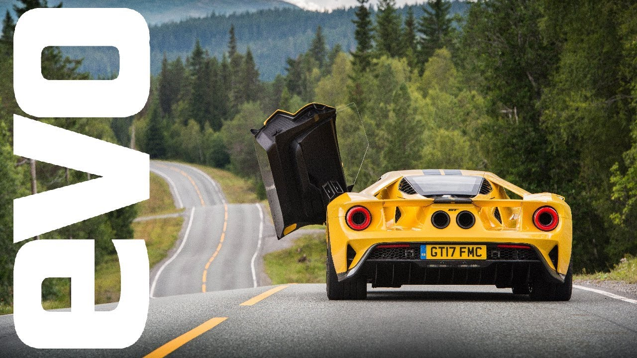 New Ford Gt Review Ing The Arctic Circle Raceway In Fords Supercar Evo Review