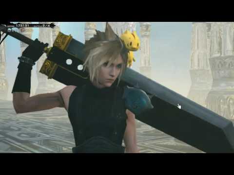 Mobius Final Fantasy - Cloud Strife Job Gameplay