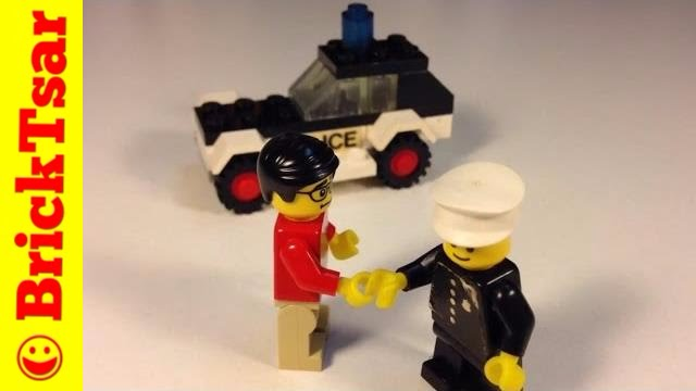 Vintage LEGO 600 Police Patrol - First Set with Minifigure!! Classic ...