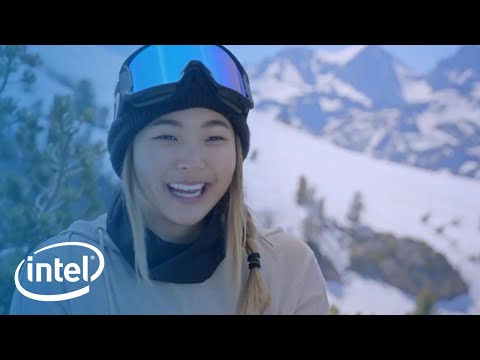 U.S. Olympic Hopeful Chloe Kim on the Mountain | Intel