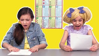School Exams Stress! 📚 School Special and More! Princesses In Real Life | Kiddyzuzaa