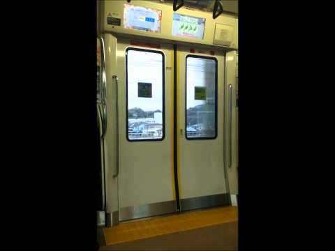 Sights & Sounds on a JR Train in Japan