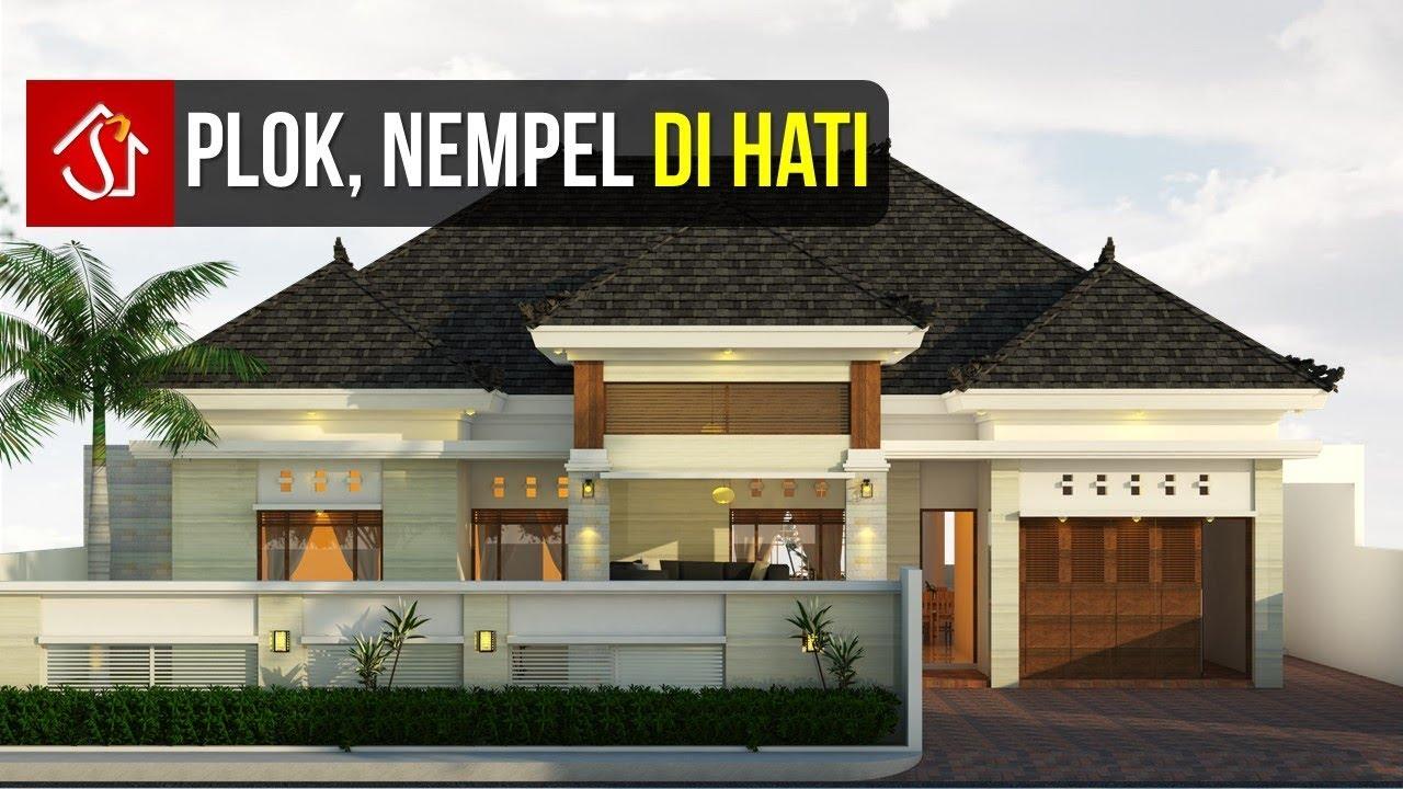 Desain Rumah Modern Tropis 1 Lantai 4 Kamar Tidur ( di ...