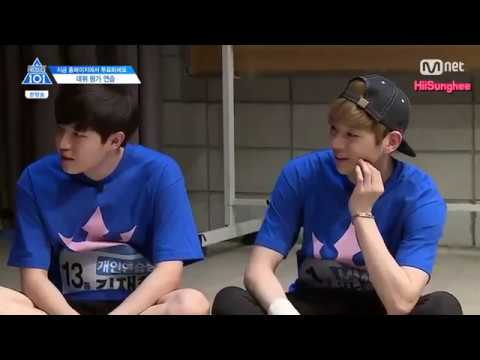 [ENG] PRODUCE 101 Season 2 Ep.10 Debut Evaluation 'Hands on Me' Cut 프로듀스101 시즌2 10회 Hands on Me조 컷