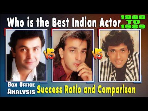 Rishi Kapoor Vs Govinda Vs Sanjay Dutt 1980-1989 All Hit ...