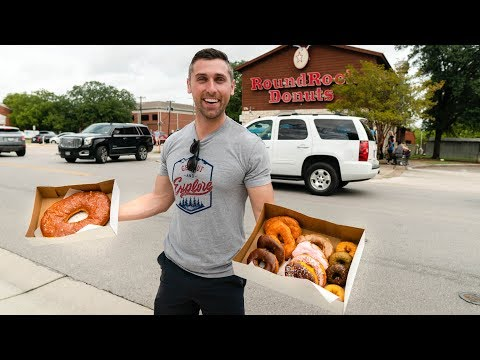 ROUND ROCK DONUTS | The Biggest & Best Donuts EVER?! | Man Vs. Food