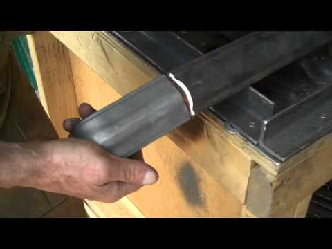 How-to Mig-Weld Wrought Iron Hand Rails by Mitchell Dillman