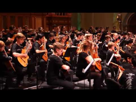 Adelaide Guitar Festival Orchestra - The Captain's Clocks, cond. R Charlton
