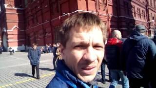Прогулка Свободных Людей. Москва 9/04/2017