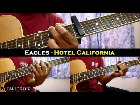 Eagles - Hotel California (Instrumental/Full Acoustic/Guitar Cover)