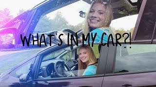 What's in my Car?! ft. Natural Life + GIVEAWAY! (2014) Thumbnail