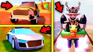 [FULL GUIDE] Jailbreak AUDI R8, JETPACKS, RAPTOR, SEASON 3 LEVELS | Roblox Jailbreak New Update
