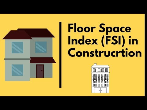 What is Floor Space Index FSI in Construction | Calculation of FSI.