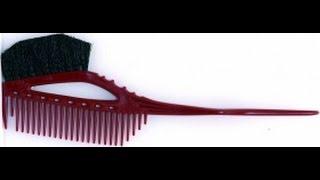 Y.S. PARK - Обзор Расчески с кисточкой для окрашивание волос .