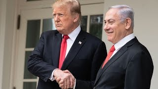 Trump Announces He's Illegally Giving Part Of Syria To Israel