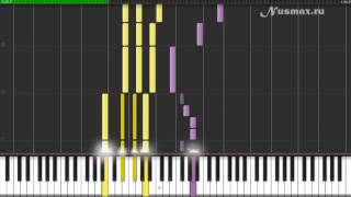 Matvei Blanter - Katyusha (Russian Wartime Song) Piano Tutorial (Synthesia + Sheets + MIDI)