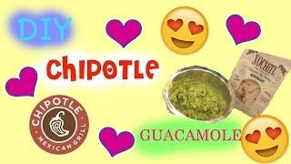 Diy Chipotle Guacamole | 2015
