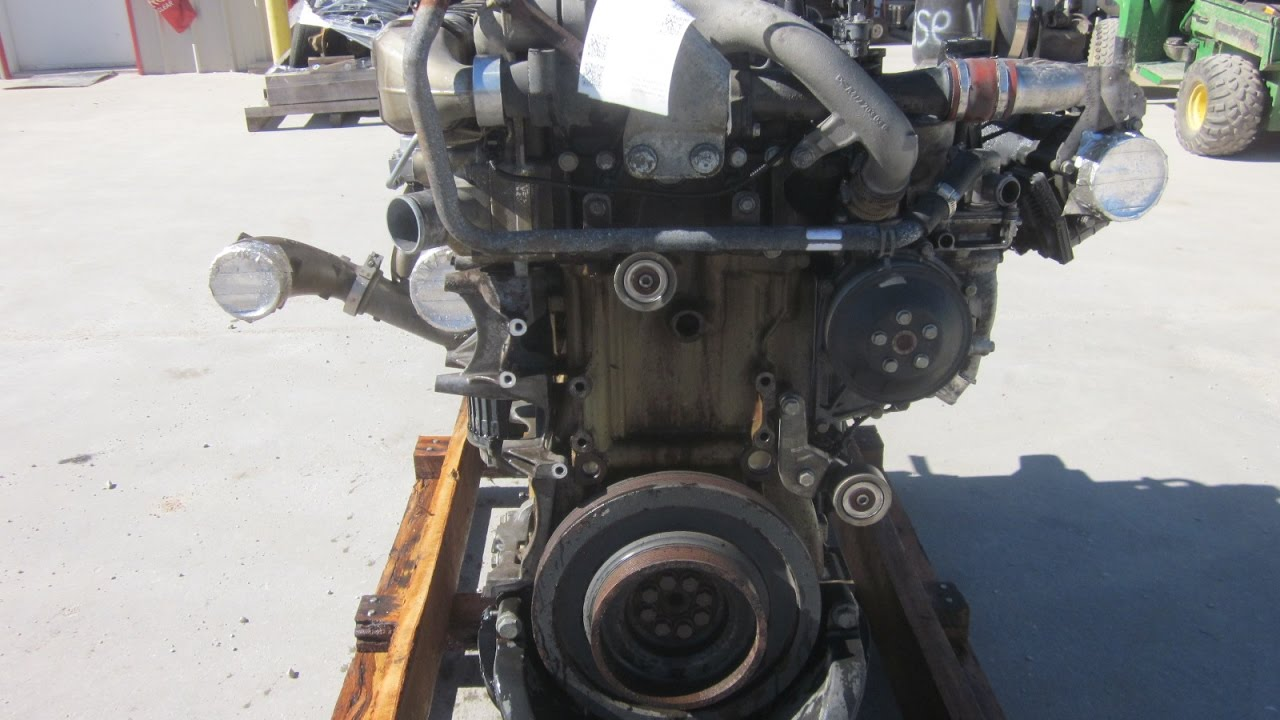 2012 Detroit DD15 Engine