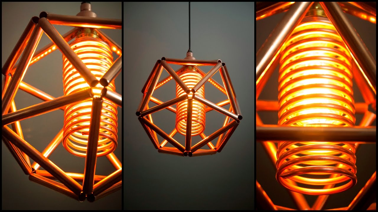 Steampunk diy industrial pipe geometric lamp 5 youtube steampunk diy industrial pipe geometric lamp 5 greentooth Images