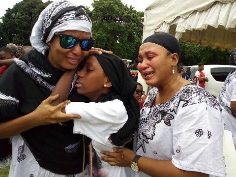 Vilio vyatawala katika kuuaga mwili wa Masogange