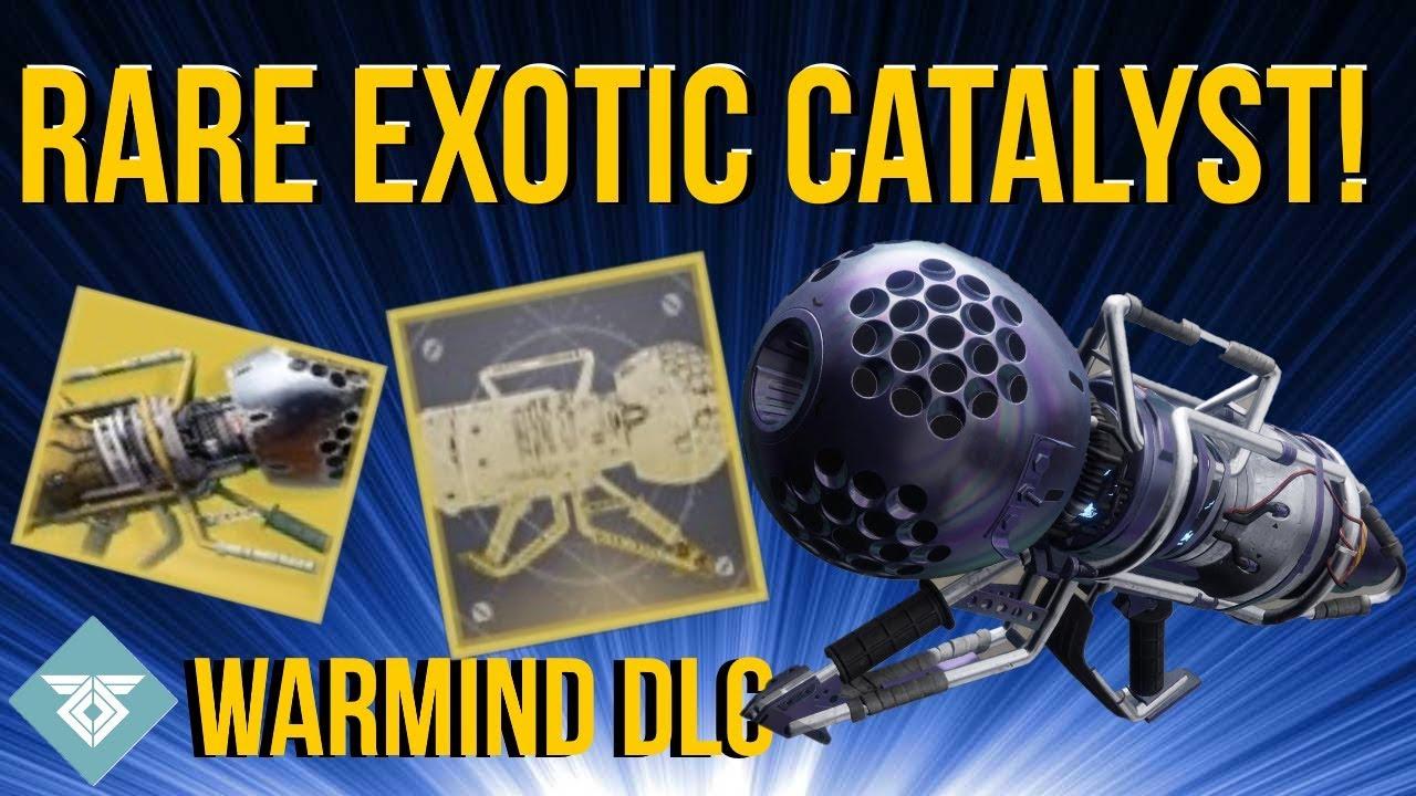 Insanely Rare Exotic Catalyst! - Wardcliff Coil! Warmind Dlc - Destiny 2