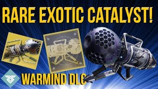 INSANELY RARE EXOTIC CATALYST! - WARDCLIFF COIL! WARMIND DLC - DESTINY 2
