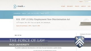 The force of law:  The effects of sexual orientation discrimination legislation in employment