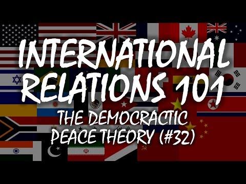 International Relations 101 (#32): Democratic Peace Theory