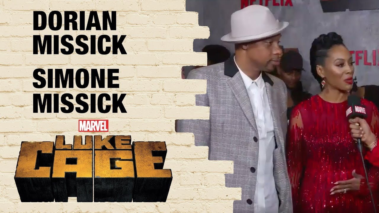 Simone and Dorian Missick on Misty Knight and Cockroach in Marvel's Luke Cage Season 2