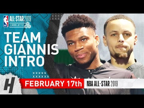Team Giannis Players Introductions - February 17, 2019 NBA All-Star Game
