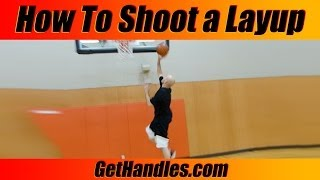 """How to Shoot a Layup Tutorial - Basics """"Basketball for Beginners"""""""