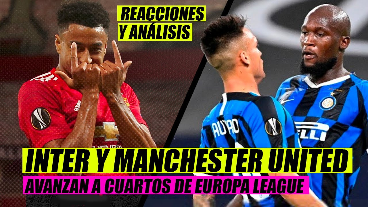 Europa League: Inter, United, Copenhague y Shakhtar, a cuartos de ...