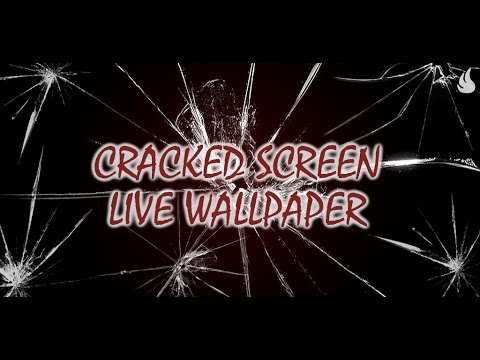 Cracked Screen Live Wallpaper (Simulation) - Apps on