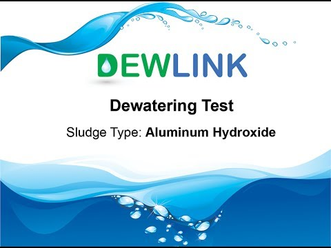 Aluminum Hydroxide Solid Liquid Separation Dewatering Test: Rubber Production Waste Water