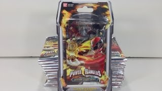 Unboxing: Power Rangers ACG - Guardians of Justice