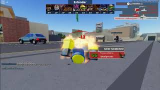 playing roblox the arsenal game