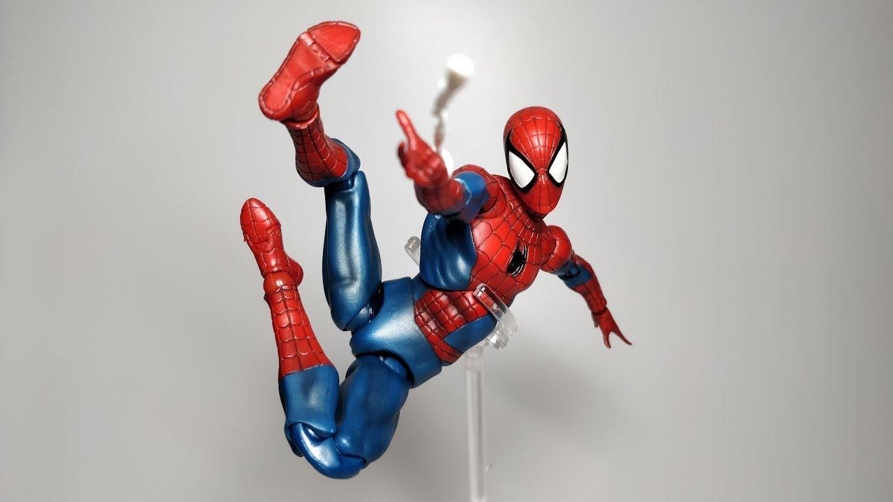 Action Figure MEDICOM TOY MAFEX No.075 SPIDER MAN Comic Ver