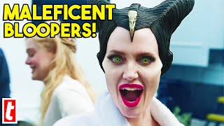 15 Maleficent Bloopers And Cute On Set Moments