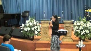 El Poder De Su Gloria Manifestada En Ti - Hna. Awilda Santana