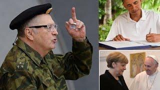 Злая шутка про Жириновского, Меркель и Обаму