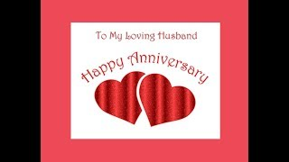 Happy Anniversary dear Husband wishes - Happy Anniversary Hubby quotes whatsap