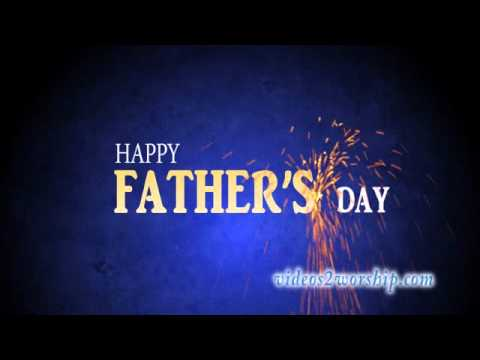 Happy Father's Day Background Loop - YouTube