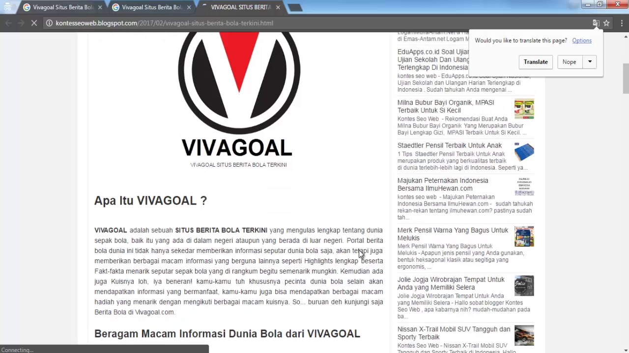 Vivagoal Situs Berita Bola Terkini Youtube