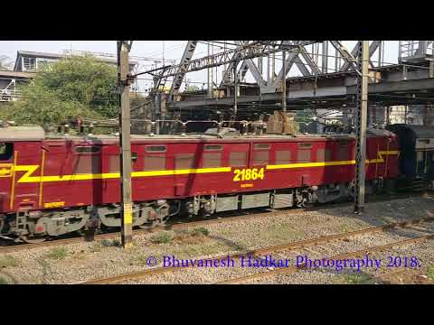 High Speed Track Melody Created By Most Famous Deccan Queen of central railways!