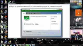 Como desactivar el Antivirus Microsoft Security Essentials | HD