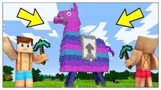 NON ROMPERE IL LAMA DI LUCKY BLOCK DI FORTNITE! - Minecraft ITA