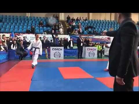Открытый чемпионат по каратэ  в Ереване